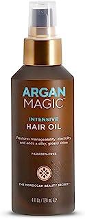 Sponsored Ad - Argan Magic Intensive Hair Oil, the Moroccan Secret, 3.75 Oz