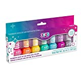 Three Cheers for Girls - Rainbow Bright Nail Polish Days of the Week - Nail Polish Set for Girls & Teens - Includes 7 Colors - Non-Toxic Nail Polish Kit for Kids Ages 8+