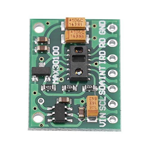 KUIDAMOS Heart Rate Pulse Oximeter Pulse Sensor Module MAX30100 for Wearable Devices for Fitness Assistant Devices