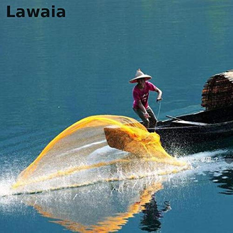 Lawaia He Hand Throw Cast Net, Tarpon Fishing Throw Fishing Net.mesh Diameter 94.5in Network Fishingnet Fishingnets   240cm