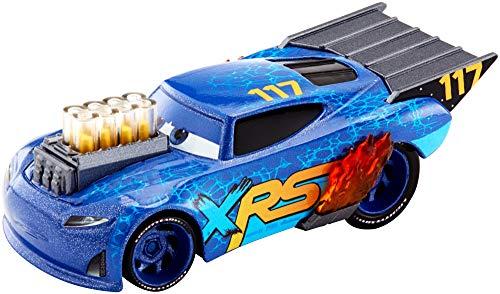 Disney Cars GFV39 - XRS Xtreme Racing Serie Dragster Rennen Die-Cast Spielzeugauto Little Torquey, Spielzeug ab 3 Jahren