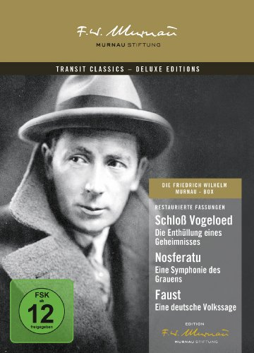 Die F. W. Murnau-Box [Deluxe Edition] [3 DVDs]