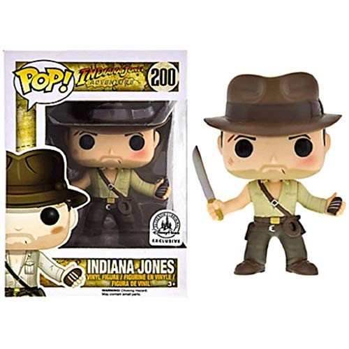 FreeStar Funko Pop Movie : Indiana Jones (Exclusive) 3.75inch Vinyl Gift for Movies Fans Multicolur