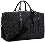 BLUBOON Weekender Overnight Bag Business Travel Duffle Bag with Shoe Compartment for Men Womens...
