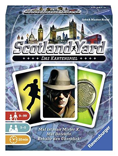 Ravensburger 20761–Scotland Yard Il Gioco di Carte la Famiglia Gioco