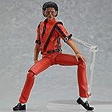 XUEMEI Figura De Acción De 15 Cm De Michael Jackson MJ Estatua Modelo Animado Adornos De Recuerdo Artesanía Títeres Juguetes para La Decoración del Regalo Michael Jackson