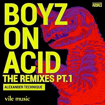 Boyz On Acid THE REMIXES PT 1