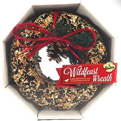 Mr. Bird Wildfeast Wreath Bird Seed