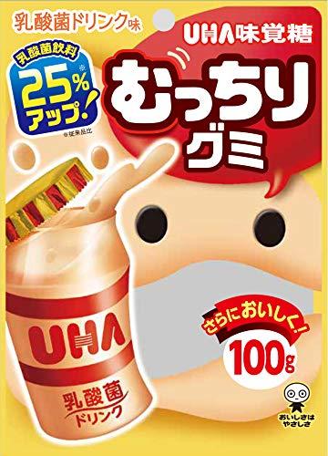 UHA味覚糖 むっちりグミ 乳酸菌ドリンク