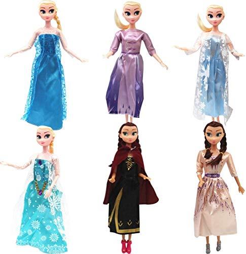 Puppen Zubehör, Kleidung Puppenkleidung,Packung Handmade Bekleidung für 11,5 Zoll Girl Doll Puppe Hochzeit Party Abendkleid Kleider & Kleidung Mädchen Geschenk Modisch Brautkleider