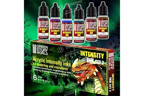 Green Stuff World Intensity Inks - Juego de 2