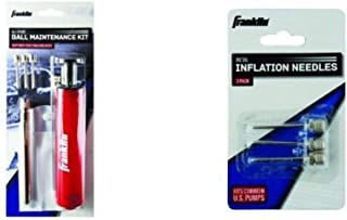 Franklin Ball Maintenance Kit Deluxe: Pump, Needles & Pressure Gauge With 3 Additional Needles