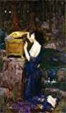 JH Lacrocon John William Waterhouse - Pandora Reproducción Cuadro sobre Lienzo Enrollado ...