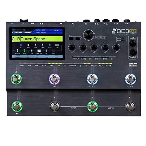 MOOER GE300 Lite Guitar Effects Pedal Multi FX Processor Silver Color