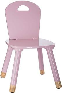 Chaise pour Chambre d Enfant Dossier en Forme de Nuage H 62 cm Douceur Lunaire Atmosphera