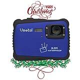 Digital Camera for Kids, Vmotal Waterproof Camera 720P HD Kids Digital Video Camera Camcorder for Children Boys Girls Gift (Blue)