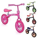 Hauck E-Z Rider Kinderlaufrad - 10 Zoll Laufrad, für Kinder ab 2, Lenker und Sattel...