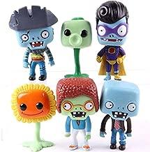 6pcs/Set 9-12cm (3.5-4.7 inch) - Plants vs Zombies Toy Set PVC Plants vs. Zombies Action Figures Collectible Model Toys Gifts