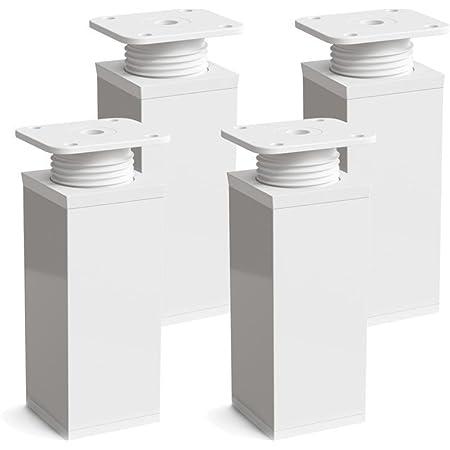 sossai® Patas para muebles MFV1   4 piezas   altura regulable ...