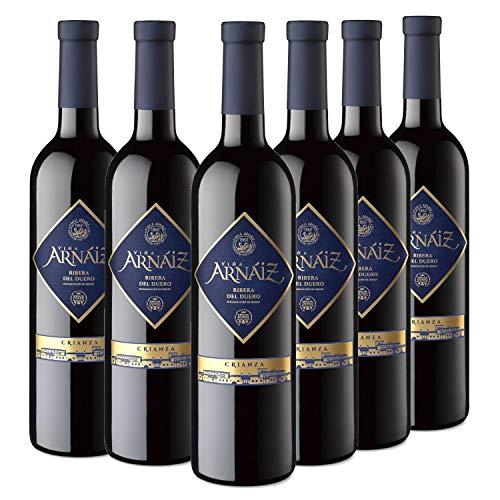 Viña Arnáiz Crianza Vino Tinto D.O Ribera del Duero - Caja de 6 Botellas x 750 ml