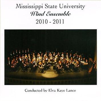 Mississippi State University Wind Ensemble 2010-2011