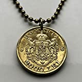 1946 Romania 2000 Lei coin pen...