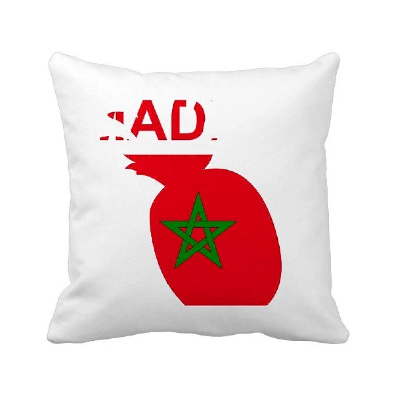 リード宇宙飛行士かろうじてモロッコの国が好きで パイナップル枕カバー正方形を投げる 50cm x 50cm