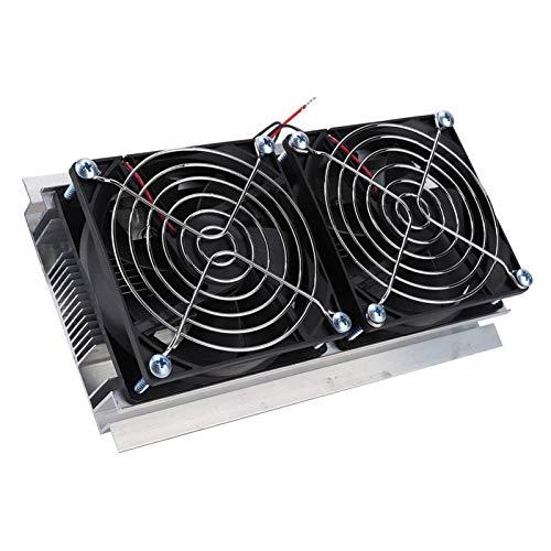 Socobeta Refrigeración de radiador de semiconductores Enfriamiento Enfriador de semiconductores Estable confiable Enfriador de refrigeración Durable para Escritorio para computadora