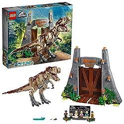 1. LEGO Jurassic World Jurassic Park: T. rex Rampage 75936