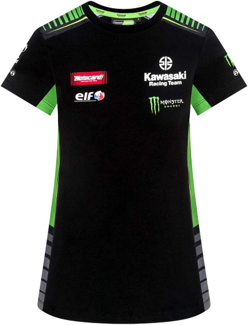 R/éplique T-Shirt Femme Kawasaki Racing Team