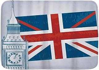 Amazon.es: La bandera inglesa Alfombras, almohadillas y