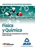Profesores de Enseñanza Secundaria Física y Química. Propuesta de programación didáctica para 3º de ESO