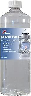 Firefly Clean Fuel Lamp Oil – Smokeless/Virtually Odorless – Longer Burning – 32 Ounces