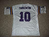 Unsigned Fran Tarkenton #10 Minnesota Custom Stitched White Football Jersey Various Sizes New No Brands/Logos (L)