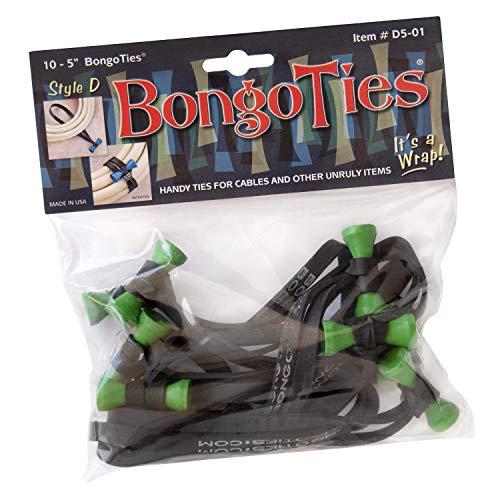 BongoTies GREEN & BLACK