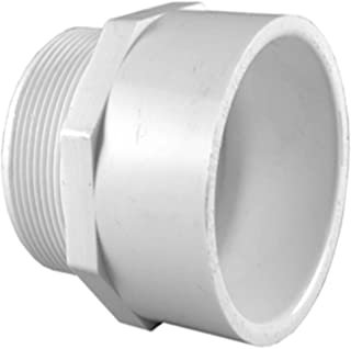 Charlotte Pipe 1-1/2 in. PVC SCH. 40 MPT x S Male Adapter