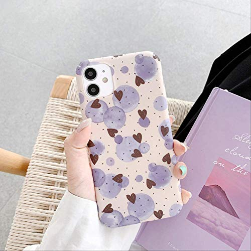 Retro Sweet Bubble Art Geometry Fundas para teléfono para iPhone 11 Pro MAX Estuche Carcasa Dura Linda para iPhone XS XR X 6s 7 8 Plus 7Plus Estuche para iPhone XS MAX 01