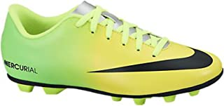 Nike New Boy's JR Mercurial Vortex FG-R Soccer Cleats