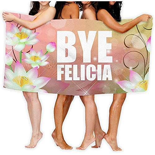 qinzuisp badlaken Bye Felicia Fashion Over-Sized strandbadhanddoeken 80X130cm