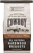 Duraflame Cowboy 26014 Cowboy Brand Natural Hardwood Briquettes, 14lb