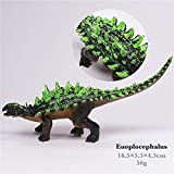 Jurassic Park Dinosaur Toys Model for Child Dragon Toy Set for Boys Velociraptor Animal Action Play Figure One Piece Home Deco (Euoplocephalus)