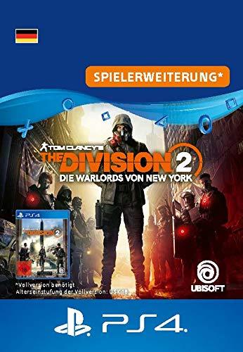 The Division 2  Die Warlords von NY - Erweiterung | PS4 Download Code - deutsches Konto