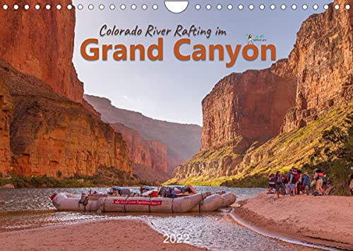 Colorado River Rafting im Grand Canyon (Wandkalender 2022 DIN A4 quer)