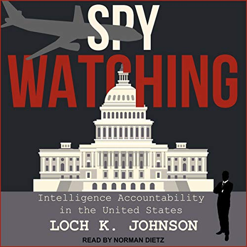 Spy Watching audiobook cover art