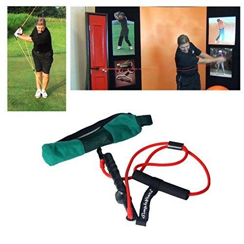 Andux Golf Training Equipment Golf Swing Resistance Bands Golf Training Aids Pull Rope HGLLS-01