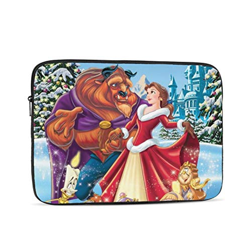 Beauty and The Beast Laptop Sleeve Case Briefcase Cover Protective Bag Compatible 10/12/13/15/17 Inch Laptop & Tablet MacBook Air MacBook Pro Ipad