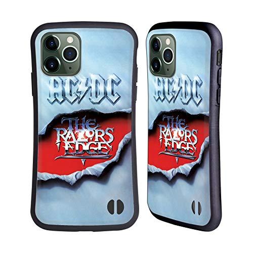 Officiële AC/DC ACDC De Rand van de scheermessen Album Kunst Hybrid Case Compatibel voor Apple iPhone 11 Pro