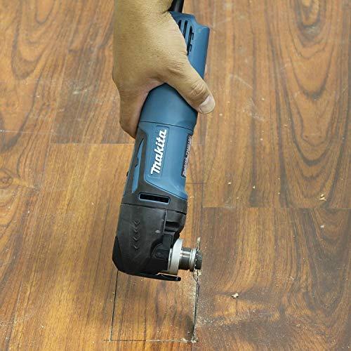 Makita TM3010CX1 Multi-Tool Kit, Tool-Less Blade Change