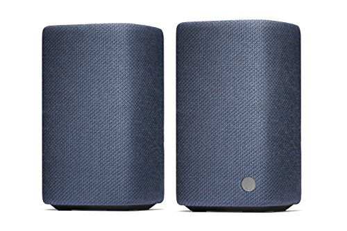 Cambridge Audio(ケンブリッジオーディオ) YOYO (M) bluetooth スピーカー 24時間連続再生 ブックシェルフスピーカー ポータブルスピーカー ブルートゥース スピーカー デジタルオーディオ用スピーカー 高音質 重低音 小型 コンパクト NFC対応 内蔵マイク スピーカーフォン ハンズフリー ジェスチャーコントロール おしゃれ ファブリック 大音量 USB充電 C10931K C10930K C10965K メーカー1年保証 【国内正規品】 (Blue)
