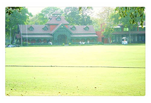 iRocket Teppich für den Innenbereich, Motiv: Lahore Gymkhana Cricket Club, Lahore (60 x 40 cm)